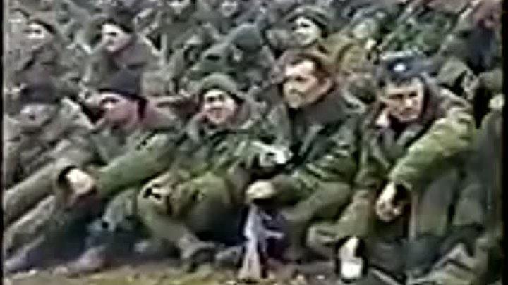 1999-2000 артиллеристы Камеской бригады встречают Новый Год в Чечне