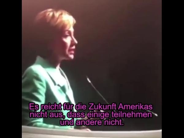 Q4386 Video von Hillary Clinton beim Loben von George Soros