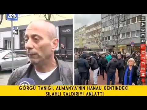 Augenzeuge Özkan Rubtil behauptet in türkischen Medien Tobias Rathjen sei nicht der Hanau Attentäter
