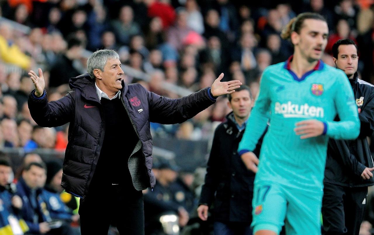 Кике Сетьен, главный тренер ФК Барселона