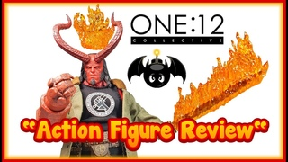 Mezco Toyz One:12 Collective PX 2019 Hellboy action figure review. (Previews Exclusive)