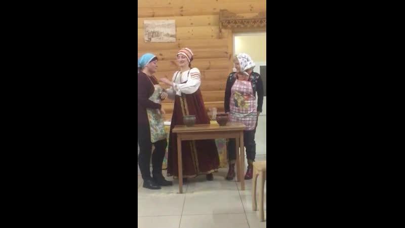 Разносольный обед в Лоцманской слободе Боровичи
