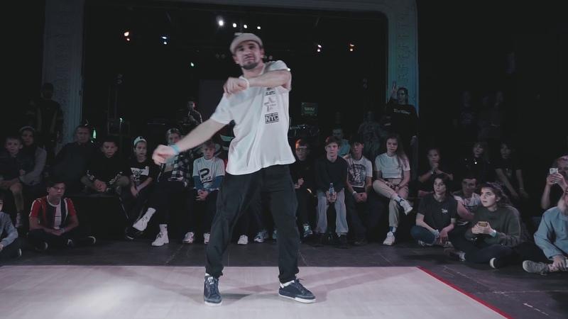 Hit The Floor Battle vol.6 hip-hop judge showcase Жека Барышев | Danceproject.info