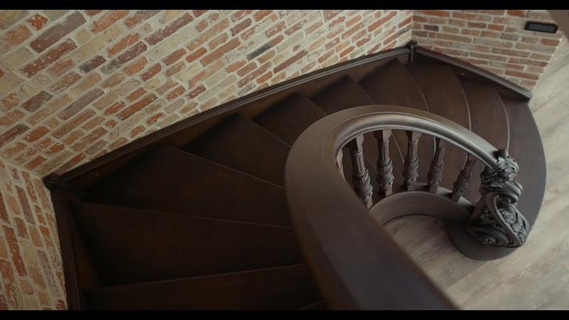 История создания винтовой лестницы