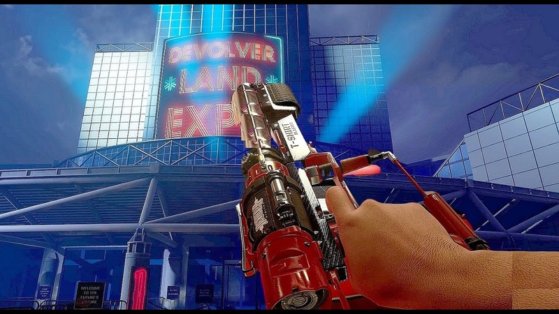 New FPS Game About A Cancelled 'E3 Expo' Is Genius Has You Explore A 'Devolver' Conference