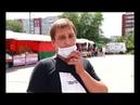 В Саяногорске у кинопарка «Альянс» развернулась широкая ярмарка