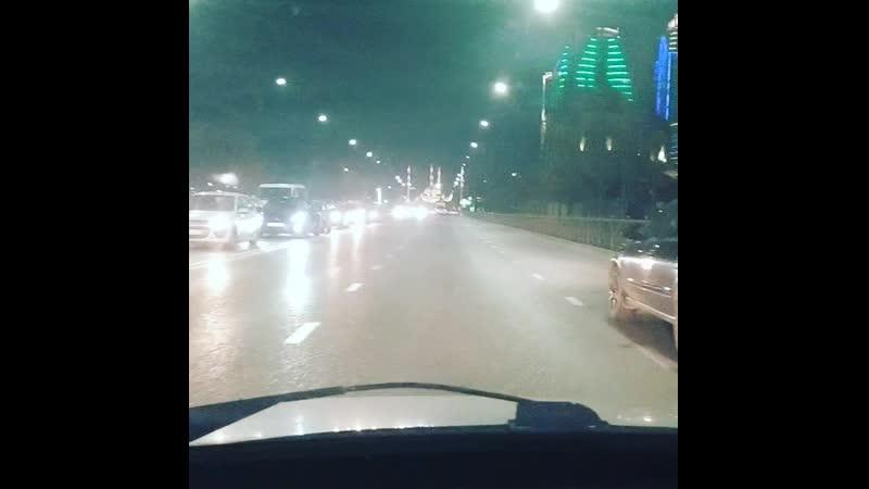 ночное время Грозном