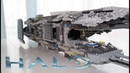 Lego HALO 4 - Forward unto Dawn (custom SHIP)
