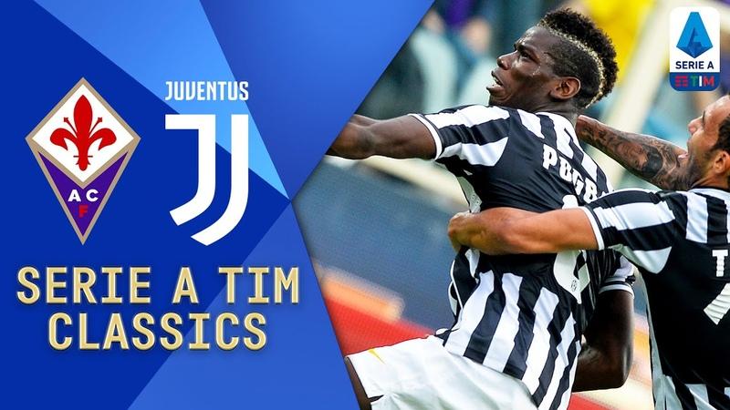 Fiorentina v Juventus 2013 Pogba Pirlo and Rossi Star Serie A TIM Classics Serie A TIM