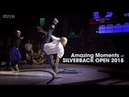 Amazing Moments at SILVERBACK OPEN 2018 stance