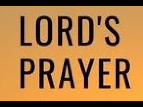 The Lords Prayer Timothy J Douglass Sr Super Power Prayer