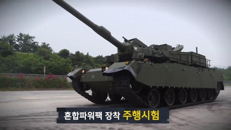 Hyundai Rotem K2 Black Panther Main Battle Tank Batch 2 With Indigenous 1500HP Engine 1080p