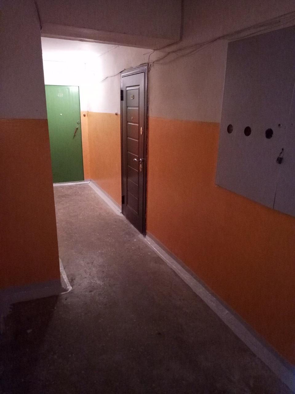Улица Добролюбова дом 10 продолжение ремонта подъезда