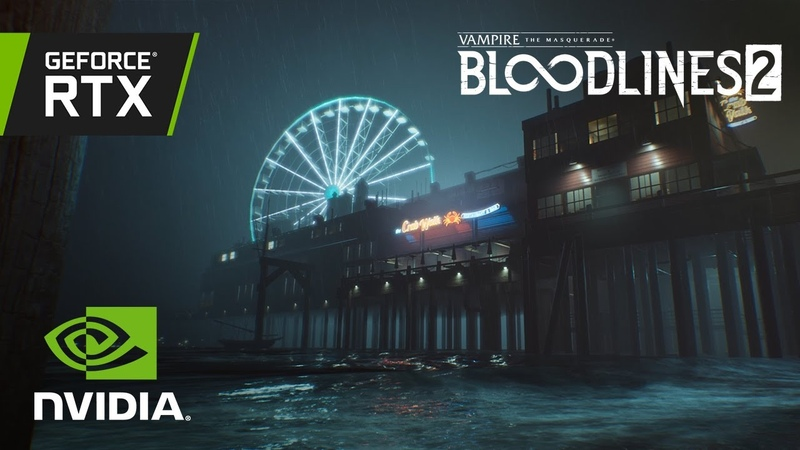 Vampire: The Masquerade – Bloodlines 2 | Official GeForce RTX Ray Tracing Reveal Trailer