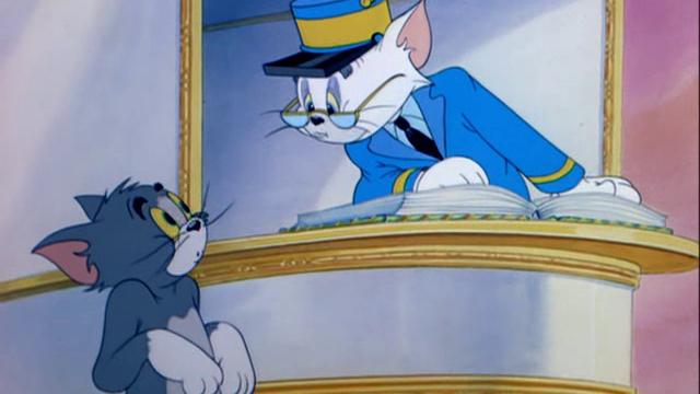 Том и Джерри - Кот в раю / Heavenly Puss (1949) / 42 серия
