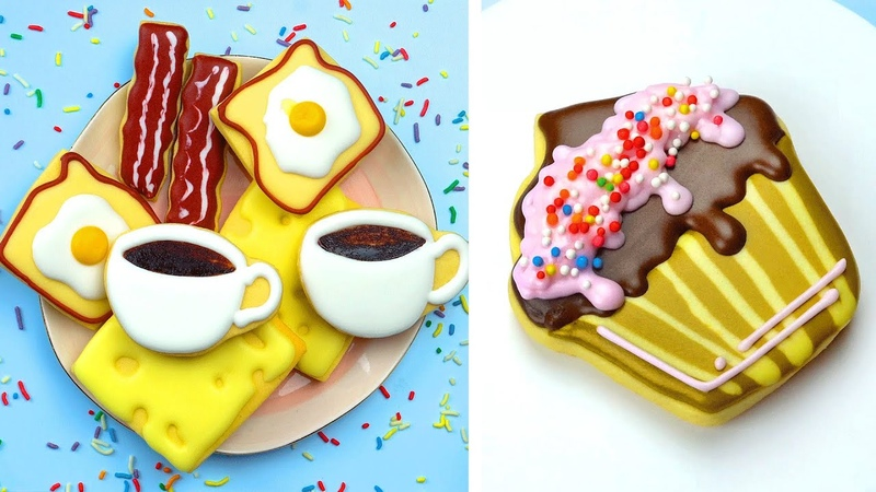 Most Beautiful Homemade Cookies Decorating Ideas For Everyone Oddly Satisfying Cookies Videos