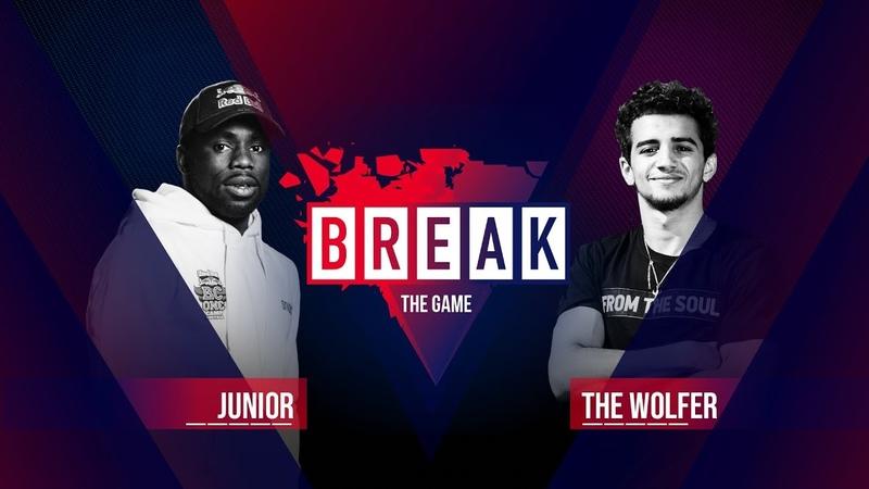B Boy Junior vs B Boy The Wolfer BREAK THE GAME