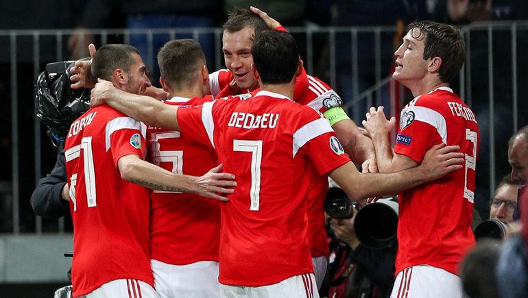 Россия разгромила Шотландию в матче отбора Евро-2020 (Видео)