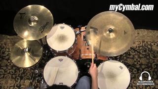 "Used Zildjian 20"" K Custom Dry Ride Cymbal (UK0886-1071414R)"