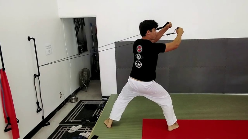 Rubber Band Drills for Judo
