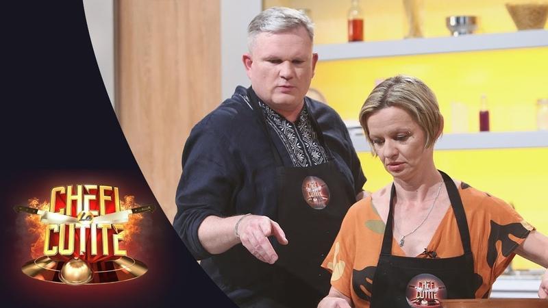 O lecţie de limbă română proaspăt învăţată Doi polonezi dau testul în bucătărie la Chefi la cuțite