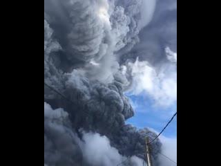 #necro_tv: Извержение вулкана Синабунг в Индонезии, 10 августа 2020
