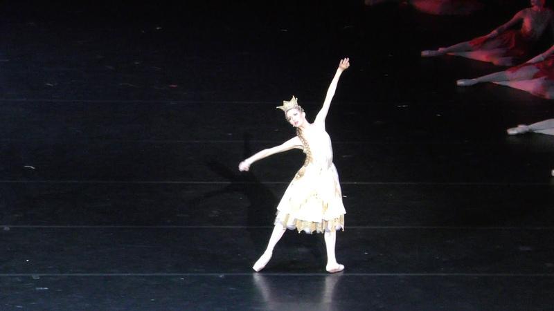29 07 18 Konyok Gorbunok variation of the Tsar Maiden Alina Somova in the firebirds' land