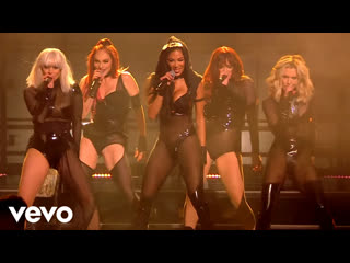 """The pussycat dolls """"buttons"""" / """"when i grow up"""" / """"don't cha"""" / """"react"""" (live on the x factor celebrity)"""