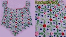 Handwork/Hand Embroidery/Neck with Basic Stitches/Embroidery for Suit,kurtas,Blouse Multi Uses205