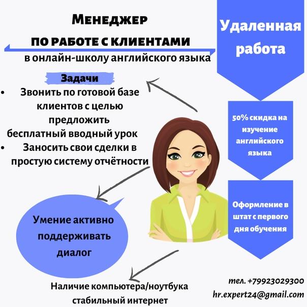 телемаркетолог удаленная работа москва
