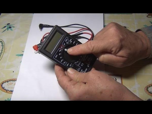 Мультиметр DT 830B установка звукового зуммера