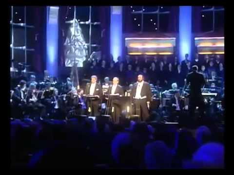 Feliz Navidad Cantada por Luciano Pavarotti Plácido Domingo y Josep Carreras