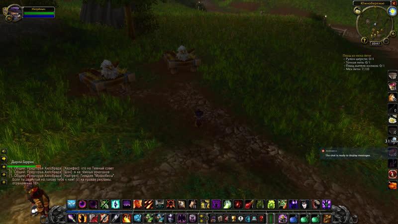 World of Warcraft Classic! Иммолейт импрувед или качаем варлока! ч.24