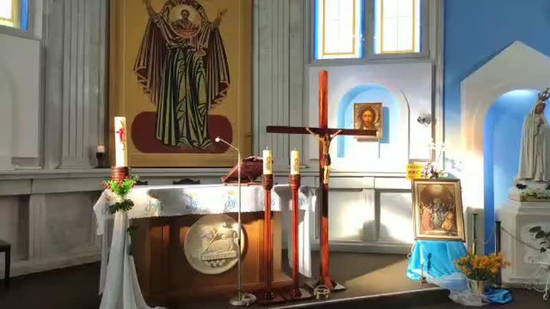 Святая Месса МариЯ Царица Апостолов