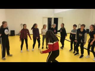 Hip-Hop routine&freestyle