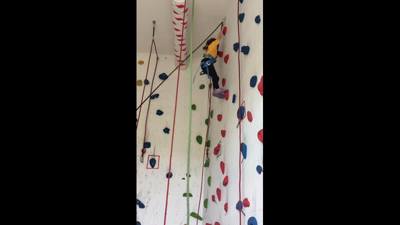Альпинистка 🧗♀️ моя скалолазка моя