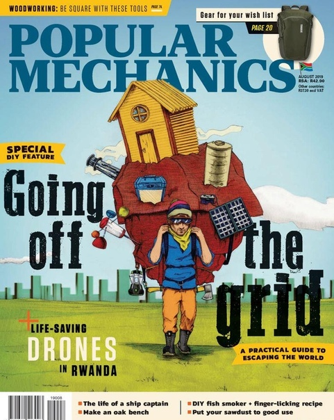 2019-08-01 Popular Mechanics South Africa