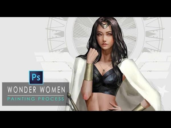 WonderWomen_Painting Process