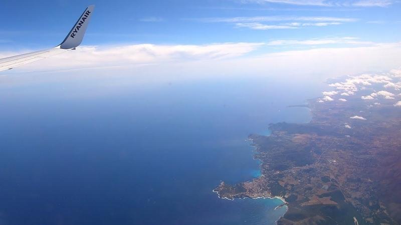 Palma de Mallorca PMI Berlin Tegel TXL flight time lapse GoPro7 4K UHD