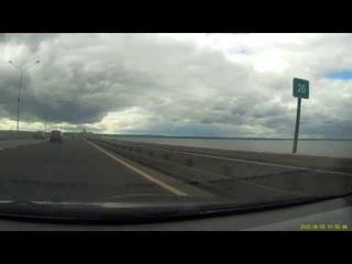 КАД (приморское шоссе - краснофлотское шоссе)