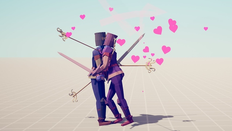 EVERY UNIT KISSING ITSELF Totally Accurate Battle Simulator TABS