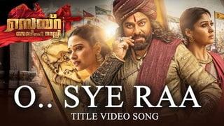 O Sye Raa Video Song (Malayalam) - Chiranjeevi | Ram Charan |Surender Reddy| Oct 2nd