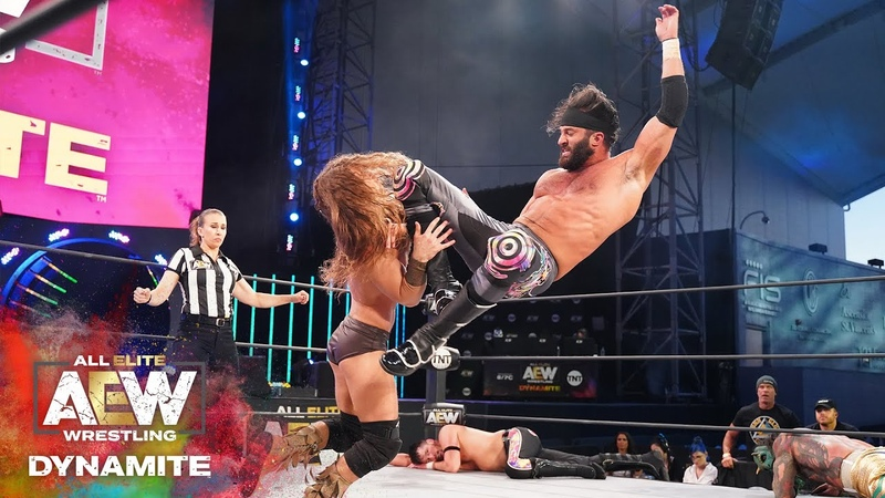 ORANGE CASSIDY GETS BLASTED AND TAG TEAM ACTION YOU CANT SEE ANYWHERE ELSE | AEW DYNAMITE 51320