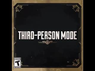 Apex legends third-person mode