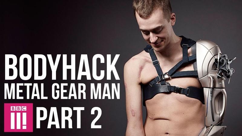 Bodyhack Metal Gear Man PART 2
