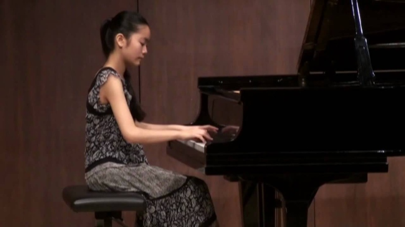 Tiffany Poon 13 Chopin Nocturne in b flat minor Op 9 No 1