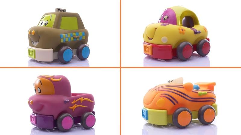 Игровой набор Забавный автопарк от Battat