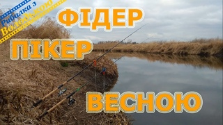 Пікер та фідер в березні на річці Стир! Риболовля перед нерестовою забороною 2020! Скоро нерест 2020
