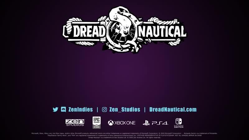 Анонсовый трейлер игры Dread Nautical