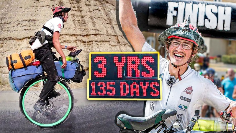 1,200 DAYS Around The World On A Unicycle - RETURNING HOME [22,000 Miles Of Cycling]